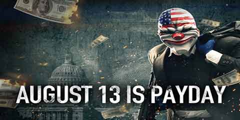 Payday 2 relsease 13 august