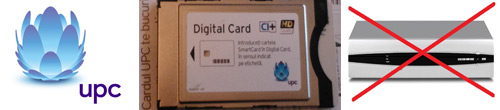 Setari Card CI+ UPC HD